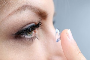 contact lens application